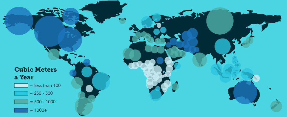 global water issues 2 rome Water scarcity affects more than 1 billion people on a global scale learn more about water scarcity, the importance of water and how your donation can help.