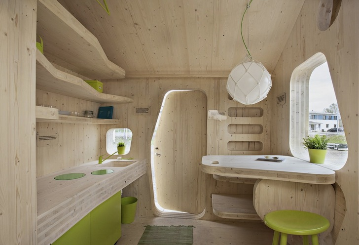 Tiny Eco Friendly Student Housing Pops Up In Sweden More Than Green