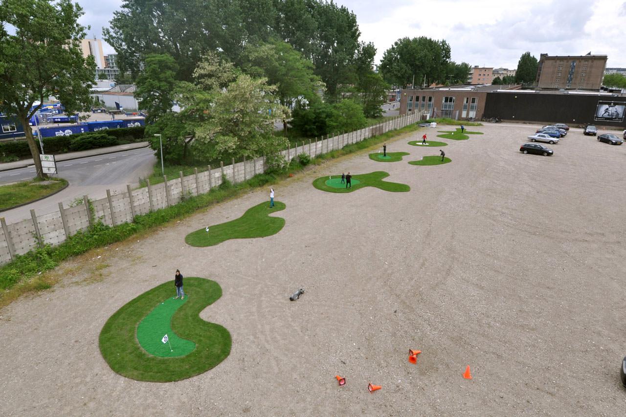Temporary-mini-golf-course-1