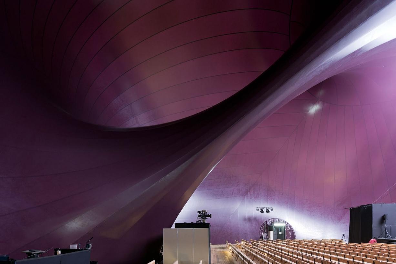 Ark nova by arata isozaki anish kapoor more than green for Ark nova concert hall