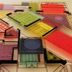 Architectural drawings reinterpretation, by Isabel Geisse