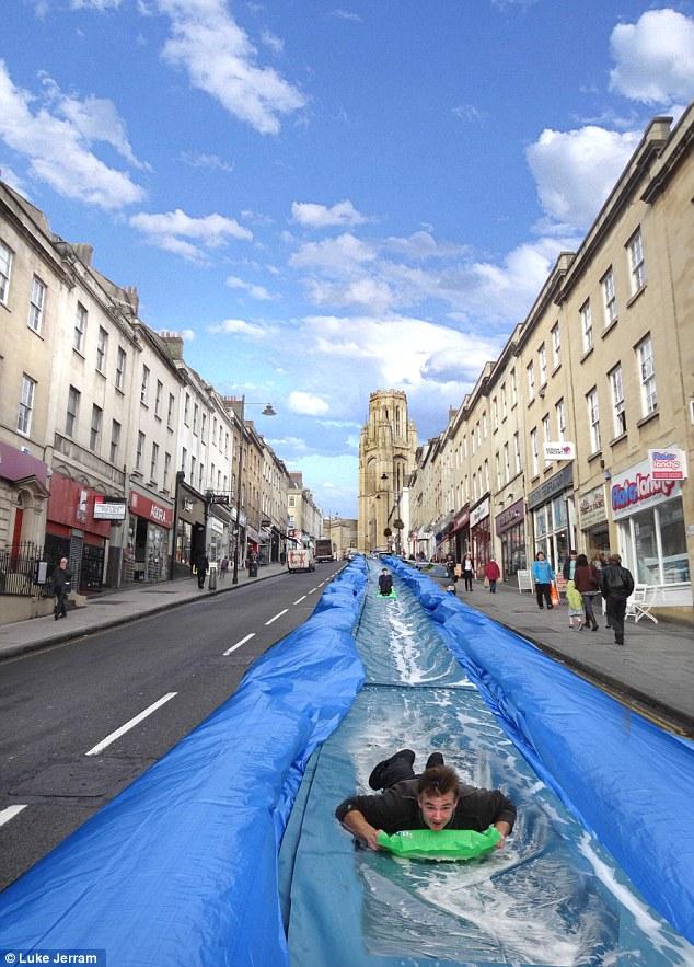 Luke Jerram giant slide 03