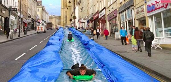 Luke Jerram giant slide