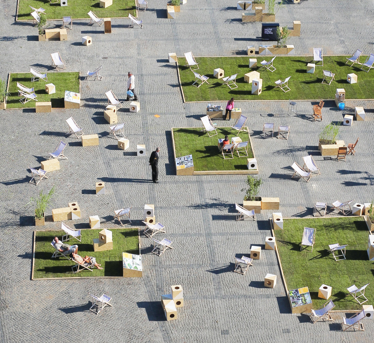 New public space on targ weglowy in gdansk by gdyby group for Interactive landscape design
