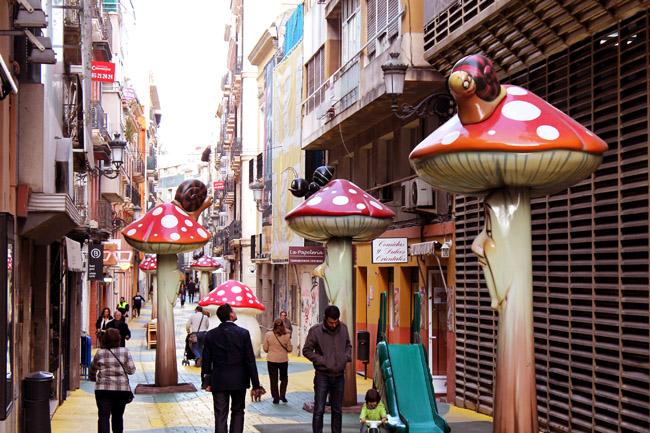 Calle de las Setas San Francisco Alicante 1