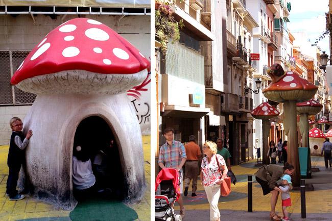 Calle de las Setas San Francisco Alicante 6