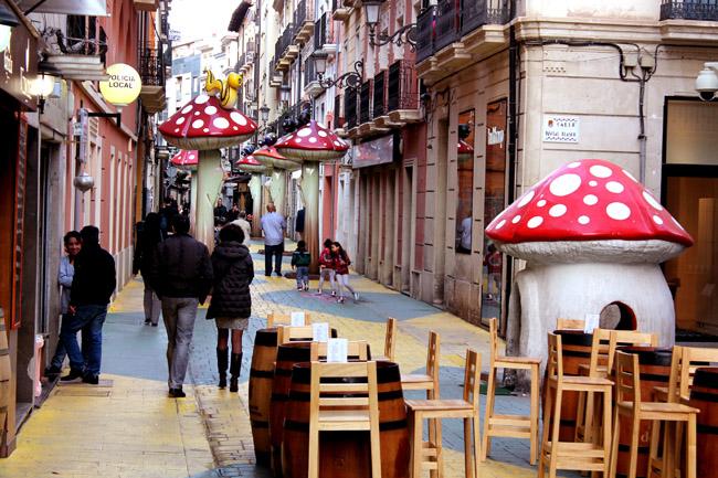 Calle de las Setas San Francisco Alicante 9