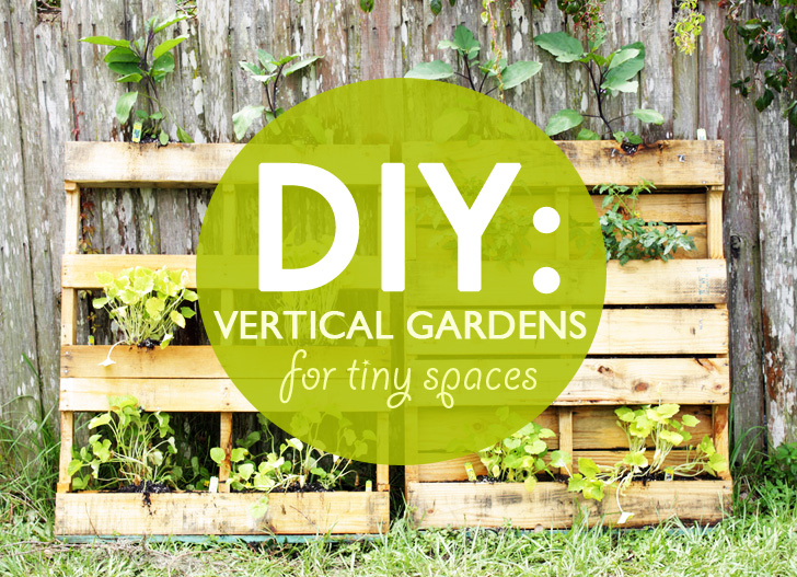 DIY: designing vertical gardens for tiny spaces