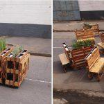<!--:es-->Brothers in Benches: Mobiliario urbano con pallets reciclados. Arte callejero en Johanesburgo<!--:--><!--:en-->Brothers in Benches: Urban furniture with recycled pallets. Street art in Johannesburg<!--:-->