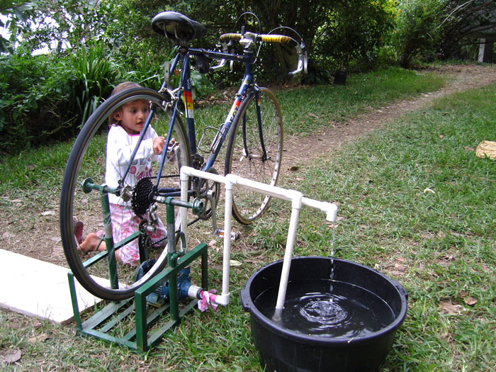 Своими руками насос для велосипеда