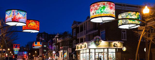 34 lámparas gigantes decoradas con obras de arte iluminan la Cartier Avenue de la ciudad de Quebec. La instalación ha […]