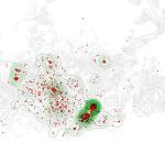 Geographies of Innovation, mapa de iniciativas innovadoras en Barcelona
